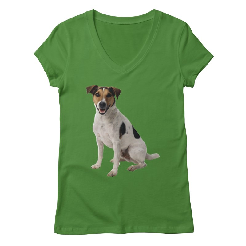 PUPPY 2 Women's V-Neck by THE ORANGE ZEROMAX STREET COUTURE