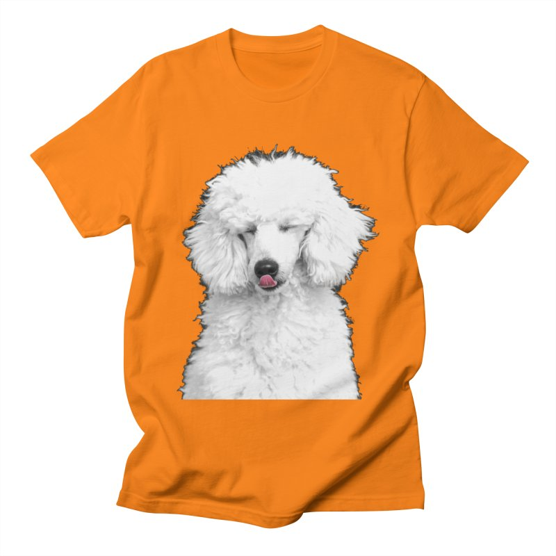 POODLE Women's Unisex T-Shirt by THE ORANGE ZEROMAX STREET COUTURE