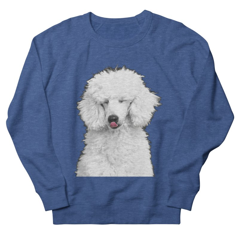 POODLE Women's Sweatshirt by THE ORANGE ZEROMAX STREET COUTURE