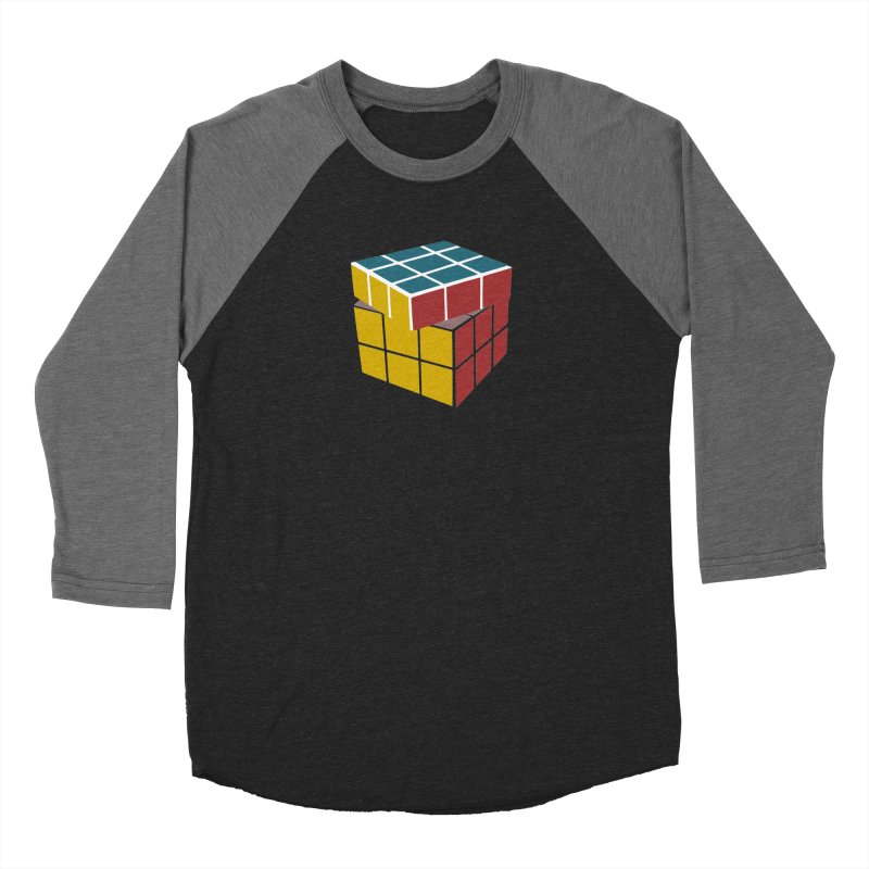 CUBE 2 Women's Baseball Triblend T-Shirt by THE ORANGE ZEROMAX STREET COUTURE