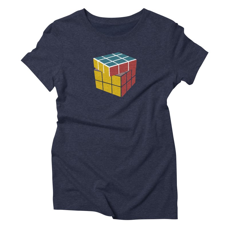 CUBE 2 Women's Triblend T-Shirt by THE ORANGE ZEROMAX STREET COUTURE