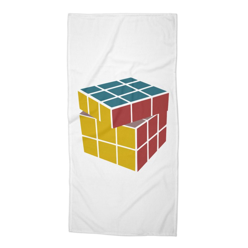 CUBE 2 Accessories Beach Towel by THE ORANGE ZEROMAX STREET COUTURE