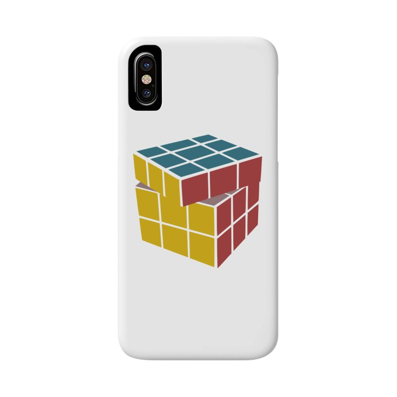 CUBE 2 Accessories Phone Case by THE ORANGE ZEROMAX STREET COUTURE