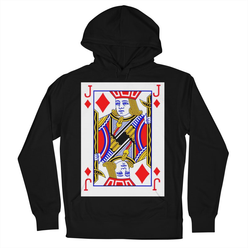 JACK OF DIAMONDS Women's Pullover Hoody by THE ORANGE ZEROMAX STREET COUTURE