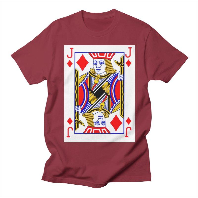 JACK OF DIAMONDS Women's Unisex T-Shirt by THE ORANGE ZEROMAX STREET COUTURE