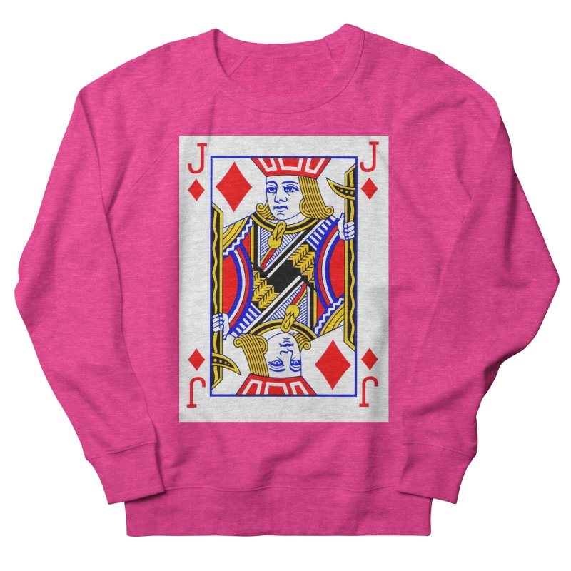 JACK OF DIAMONDS Women's Sweatshirt by THE ORANGE ZEROMAX STREET COUTURE
