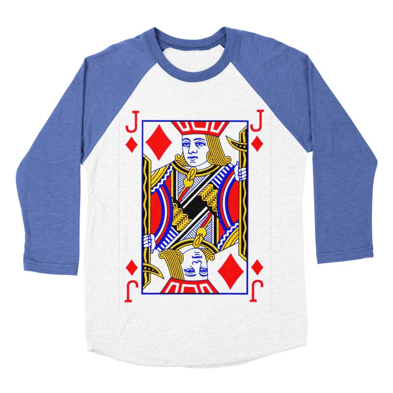 JACK OF DIAMONDS Women's Baseball Triblend T-Shirt by THE ORANGE ZEROMAX STREET COUTURE