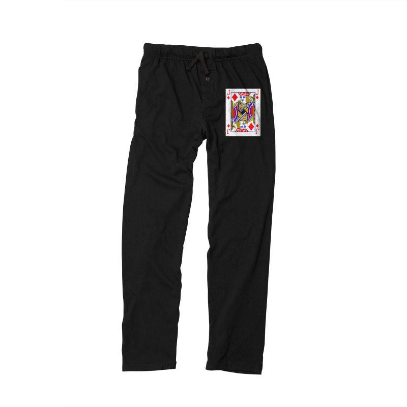 JACK OF DIAMONDS Women's Lounge Pants by THE ORANGE ZEROMAX STREET COUTURE