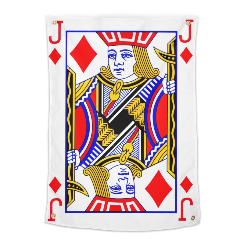 JACK OF DIAMONDS Home Tapestry by THE ORANGE ZEROMAX STREET COUTURE