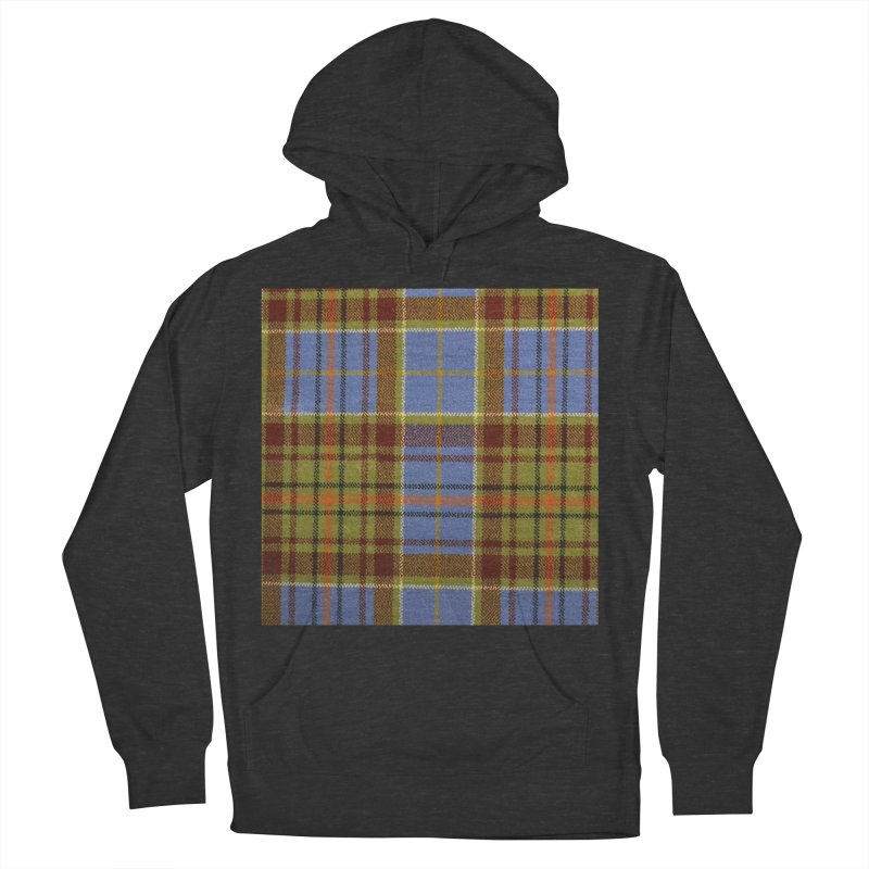 ADAM TARTAN Women's French Terry Pullover Hoody by THE ORANGE ZEROMAX STREET COUTURE
