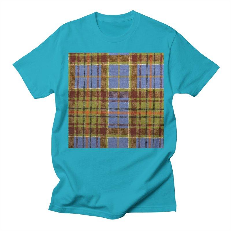 ADAM TARTAN Women's Regular Unisex T-Shirt by THE ORANGE ZEROMAX STREET COUTURE