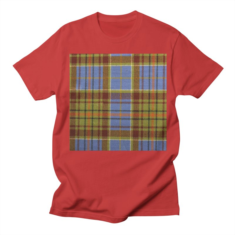 ADAM TARTAN Women's Regular Unisex T-Shirt by THE ORANGE ZEROMAX STREET COUTURE