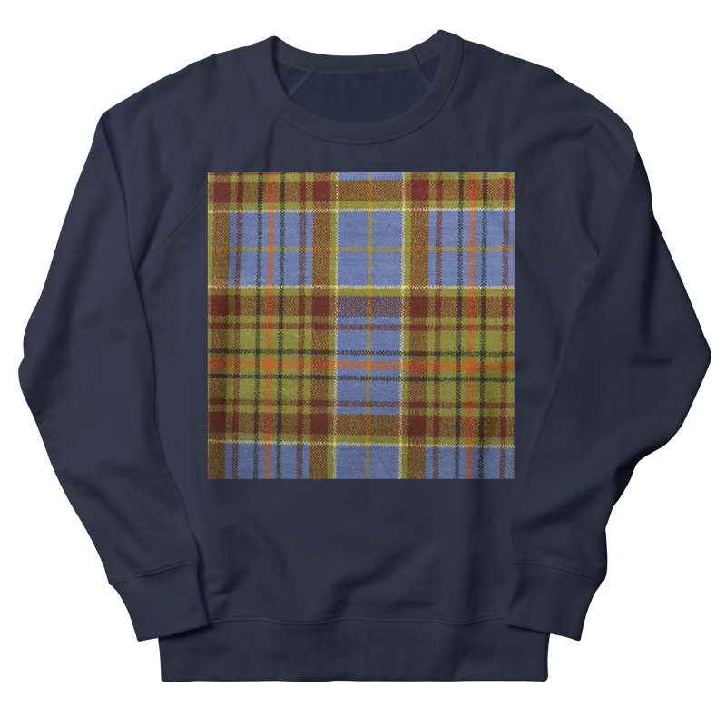 ADAM TARTAN Women's French Terry Sweatshirt by THE ORANGE ZEROMAX STREET COUTURE