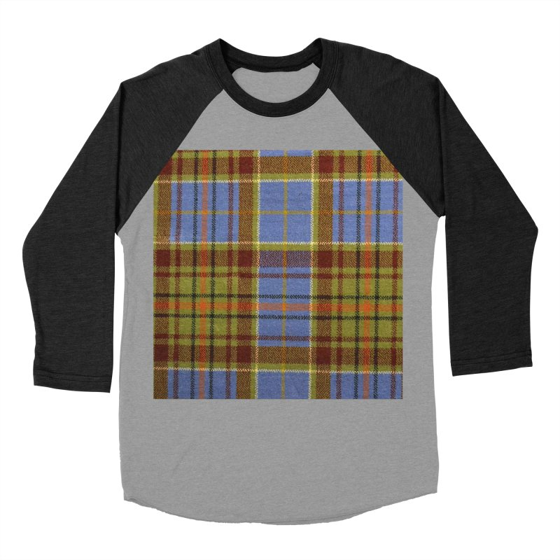 ADAM TARTAN Women's Baseball Triblend T-Shirt by THE ORANGE ZEROMAX STREET COUTURE