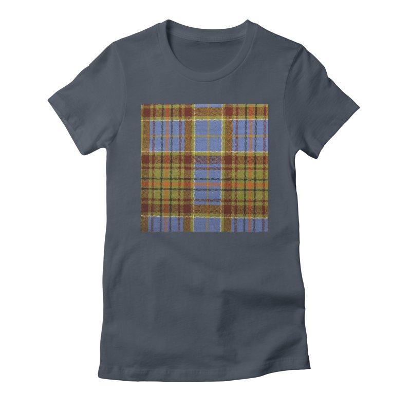 ADAM TARTAN Women's T-Shirt by THE ORANGE ZEROMAX STREET COUTURE