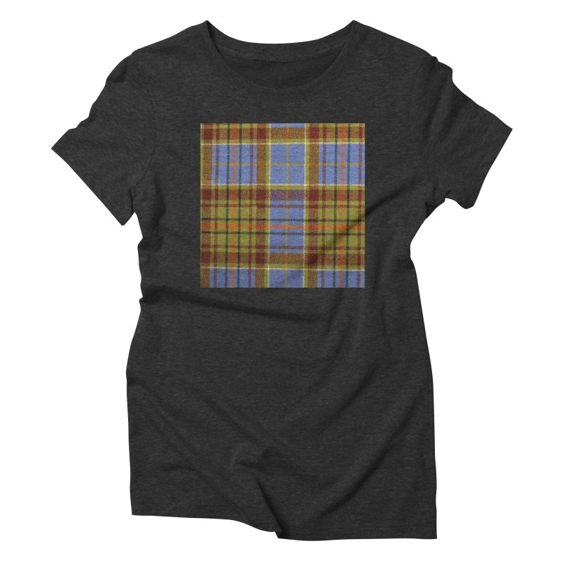 ADAM TARTAN Women's Triblend T-Shirt by THE ORANGE ZEROMAX STREET COUTURE