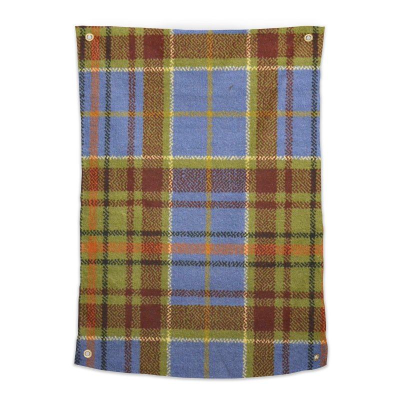 ADAM TARTAN Home Tapestry by THE ORANGE ZEROMAX STREET COUTURE
