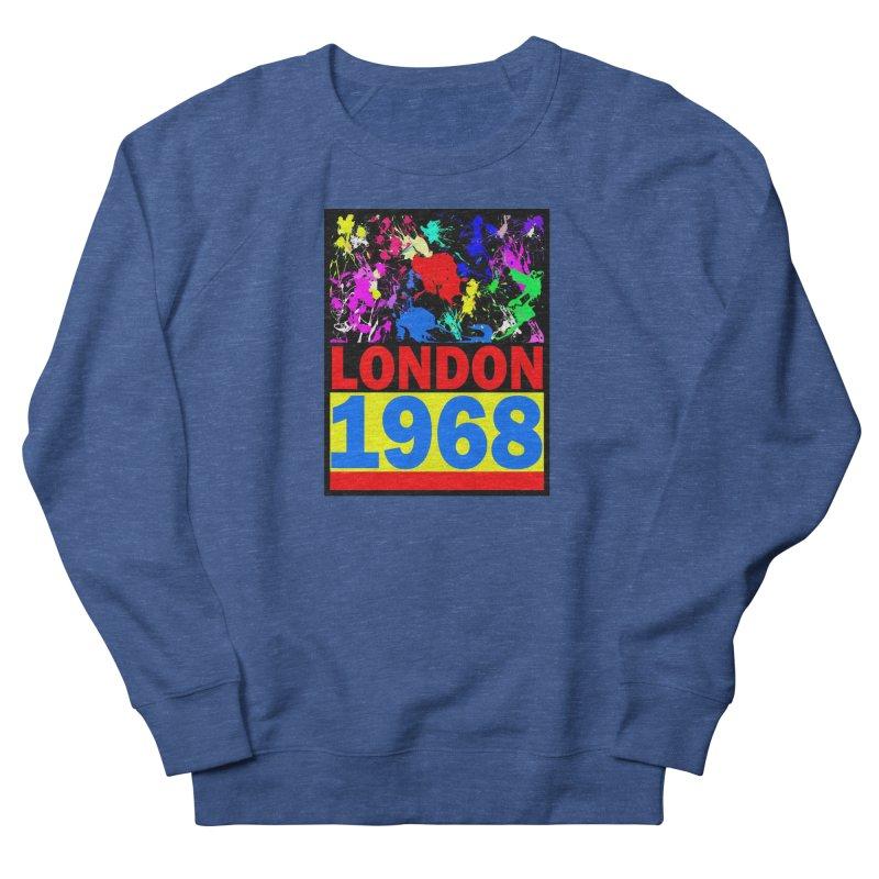 1968 LONDON 2 Men's Sweatshirt by THE ORANGE ZEROMAX STREET COUTURE