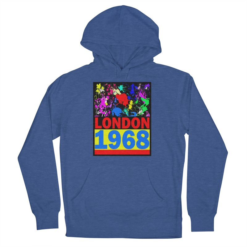 1968 LONDON 2 Women's Pullover Hoody by THE ORANGE ZEROMAX STREET COUTURE