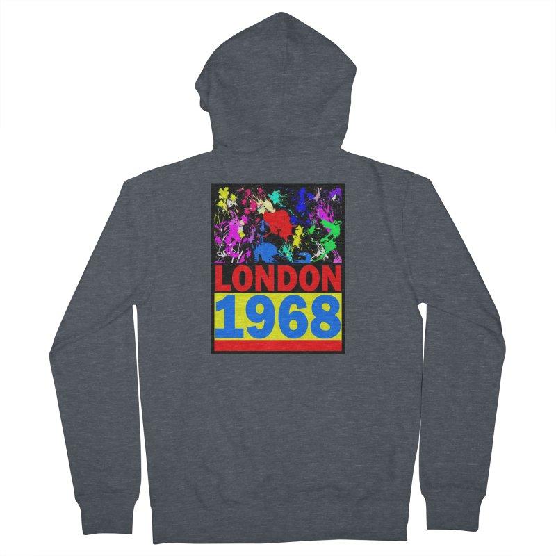 1968 LONDON 2 Women's Zip-Up Hoody by THE ORANGE ZEROMAX STREET COUTURE