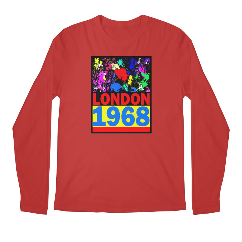 1968 LONDON 2 Men's Regular Longsleeve T-Shirt by THE ORANGE ZEROMAX STREET COUTURE