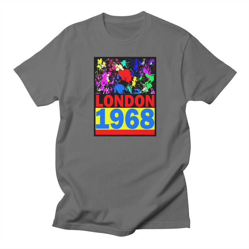 1968 LONDON 2 Women's Regular Unisex T-Shirt by THE ORANGE ZEROMAX STREET COUTURE