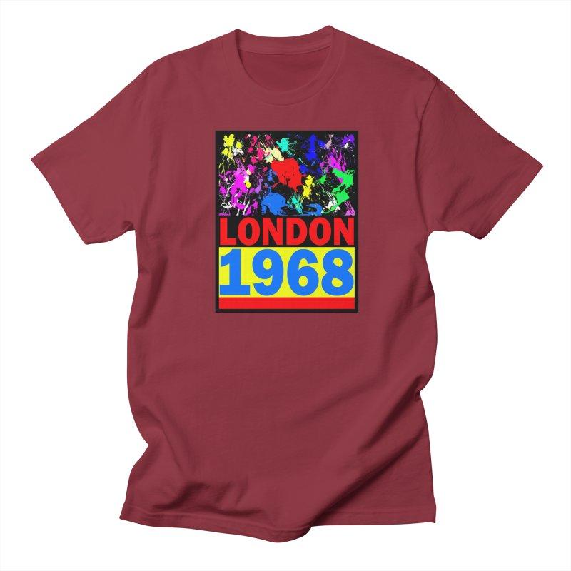 1968 LONDON 2 Women's Unisex T-Shirt by THE ORANGE ZEROMAX STREET COUTURE