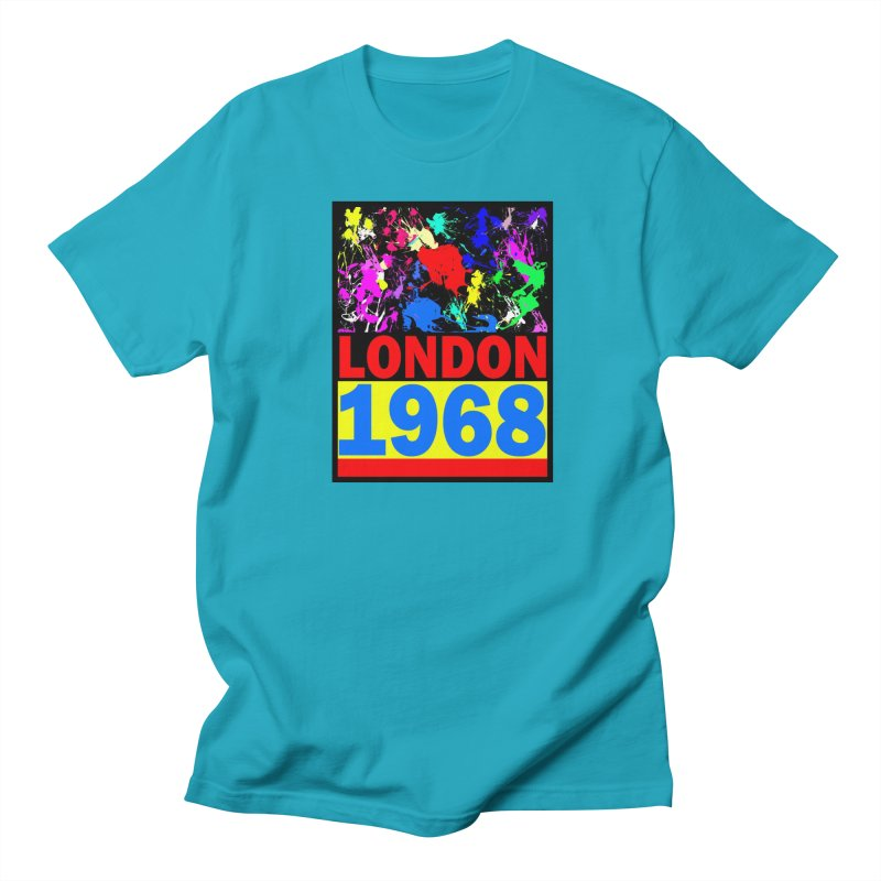 1968 LONDON 2 Women's Regular Unisex T-Shirt by THE ORANGE ZEROMAX STREET COUTURE