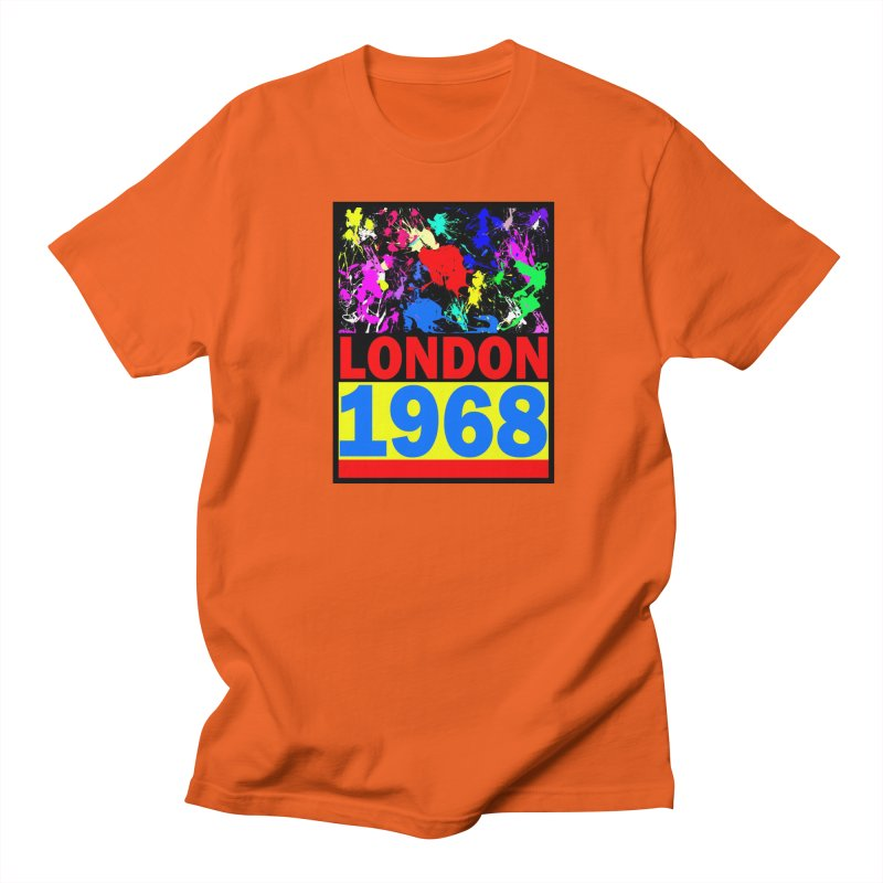 1968 LONDON 2 Men's Regular T-Shirt by THE ORANGE ZEROMAX STREET COUTURE