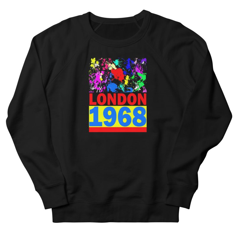 1968 LONDON 2 Women's French Terry Sweatshirt by THE ORANGE ZEROMAX STREET COUTURE