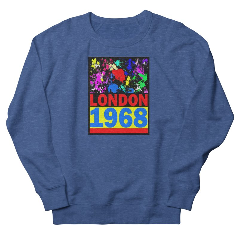 1968 LONDON 2 Men's French Terry Sweatshirt by THE ORANGE ZEROMAX STREET COUTURE
