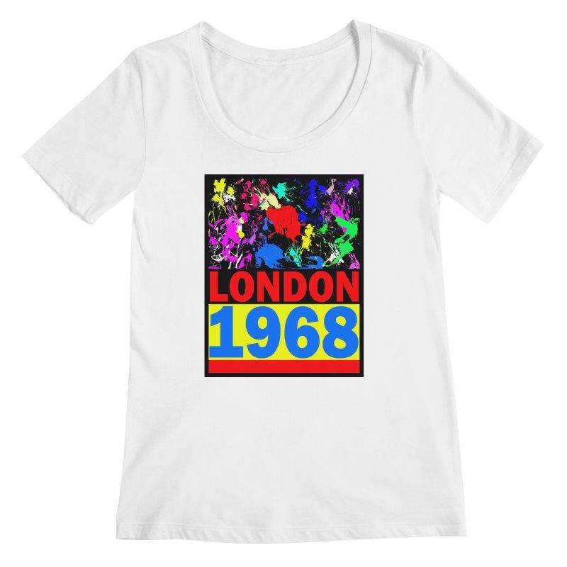 1968 LONDON 2 Women's Regular Scoop Neck by THE ORANGE ZEROMAX STREET COUTURE