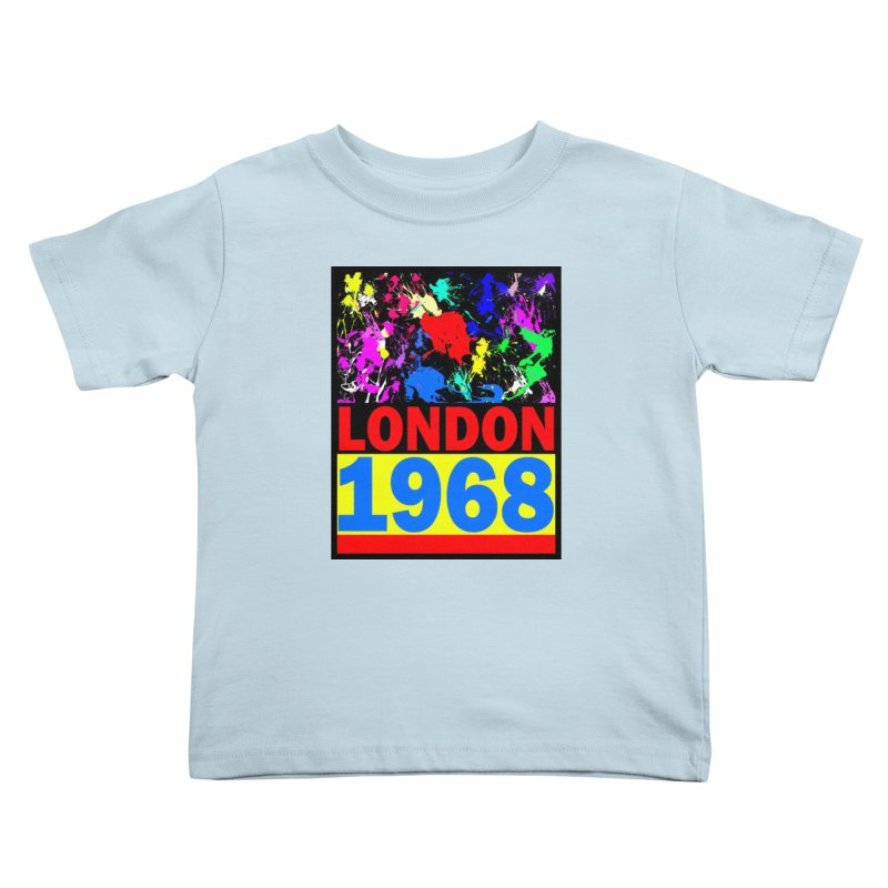 1968 LONDON 2 Kids Toddler T-Shirt by THE ORANGE ZEROMAX STREET COUTURE