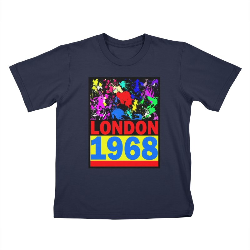 1968 LONDON 2 Kids T-Shirt by THE ORANGE ZEROMAX STREET COUTURE