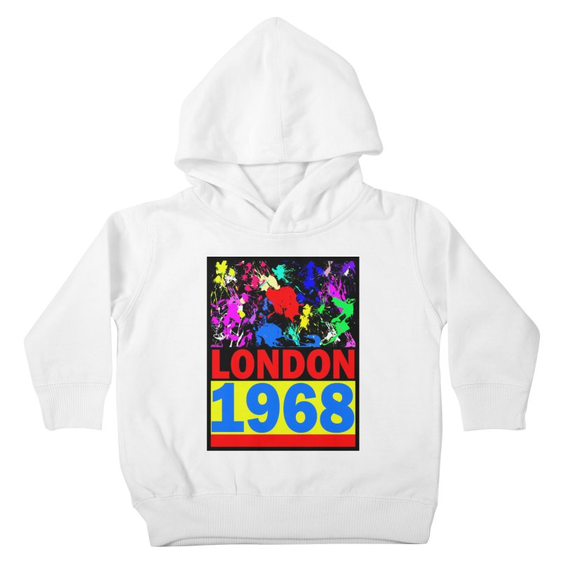 1968 LONDON 2 Kids Toddler Pullover Hoody by THE ORANGE ZEROMAX STREET COUTURE