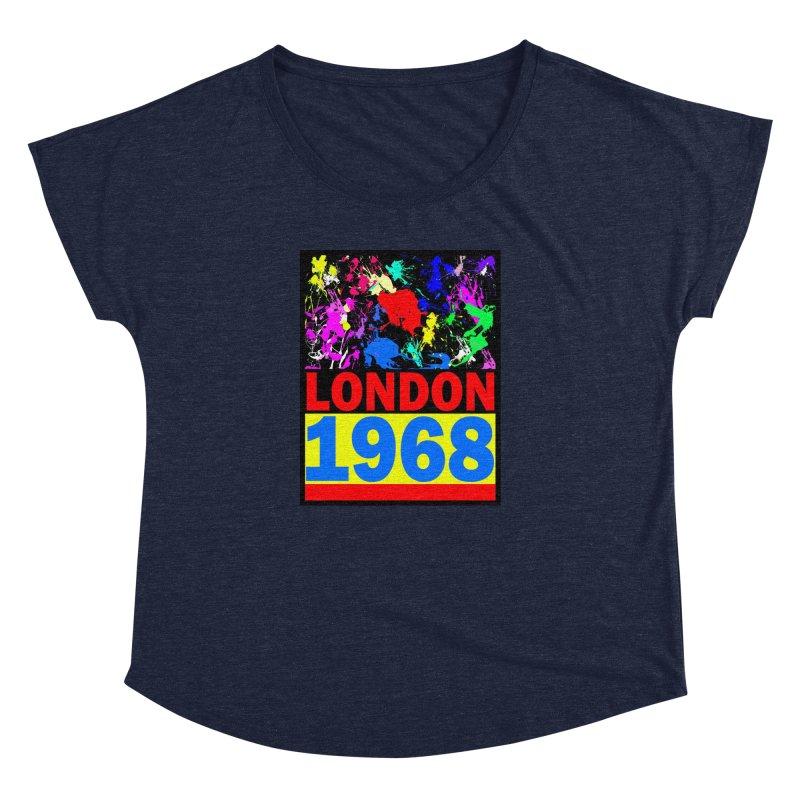 1968 LONDON 2 Women's Dolman by THE ORANGE ZEROMAX STREET COUTURE