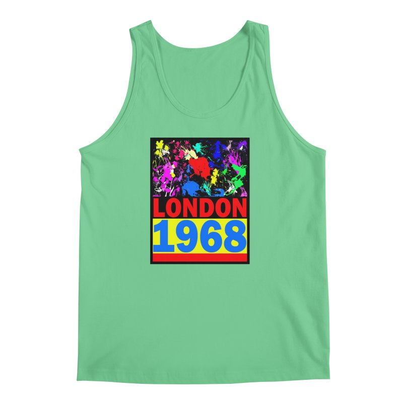 1968 LONDON 2 Men's Regular Tank by THE ORANGE ZEROMAX STREET COUTURE
