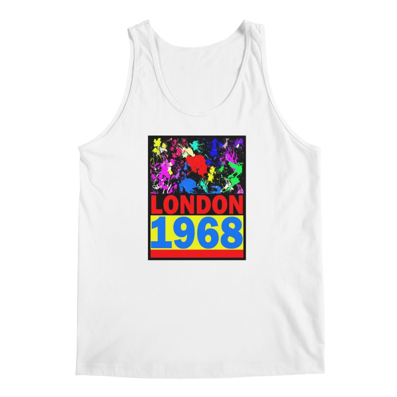 1968 LONDON 2 Men's Regular Tank by THE ORANGE ZEROMAX STREET COUTURE
