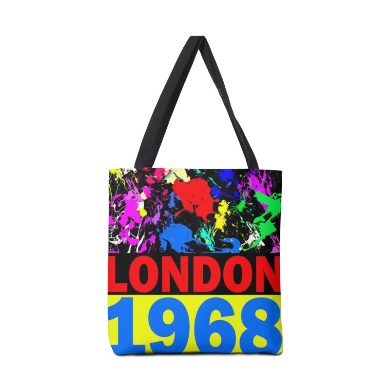 1968 LONDON 2 Accessories Bag by THE ORANGE ZEROMAX STREET COUTURE