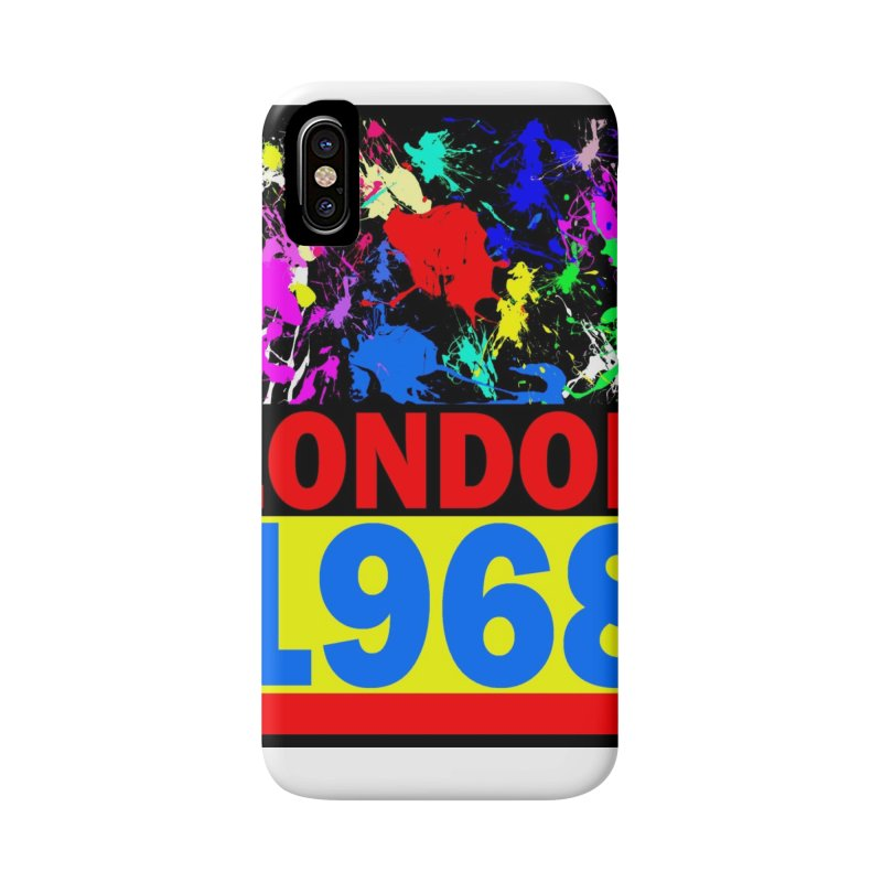 1968 LONDON 2 Accessories Phone Case by THE ORANGE ZEROMAX STREET COUTURE