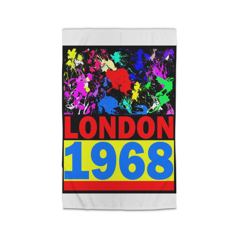 1968 LONDON 2 Home Rug by THE ORANGE ZEROMAX STREET COUTURE