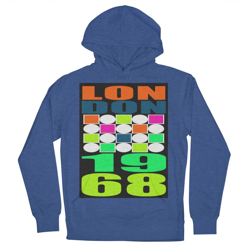 1968 LONDON Women's Pullover Hoody by THE ORANGE ZEROMAX STREET COUTURE