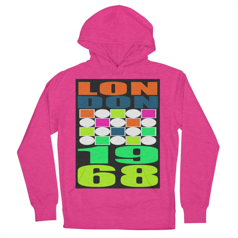 1968 LONDON Men's Pullover Hoody by THE ORANGE ZEROMAX STREET COUTURE