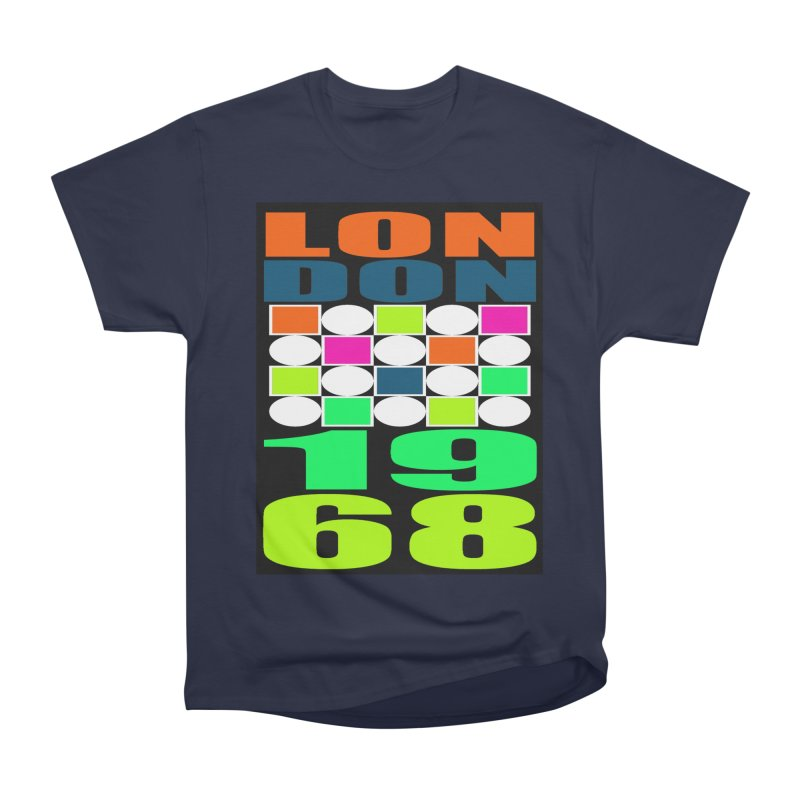 1968 LONDON Women's Heavyweight Unisex T-Shirt by THE ORANGE ZEROMAX STREET COUTURE