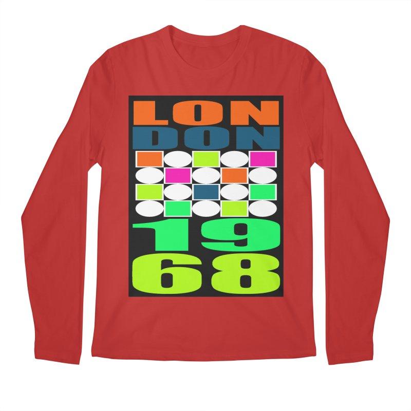 1968 LONDON Men's Regular Longsleeve T-Shirt by THE ORANGE ZEROMAX STREET COUTURE