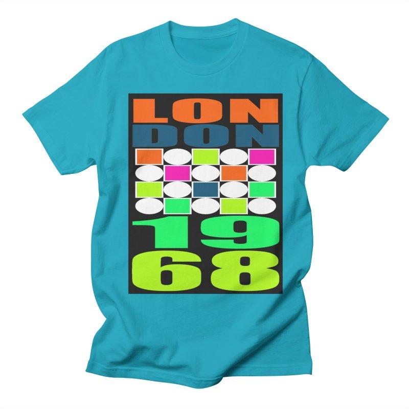 1968 LONDON Women's Regular Unisex T-Shirt by THE ORANGE ZEROMAX STREET COUTURE