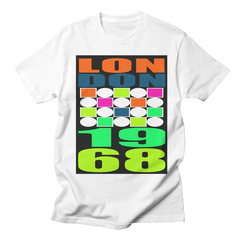 1968 LONDON Men's Regular T-Shirt by THE ORANGE ZEROMAX STREET COUTURE