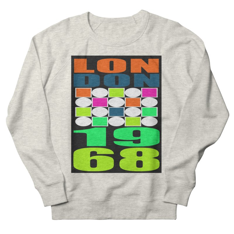 1968 LONDON Men's French Terry Sweatshirt by THE ORANGE ZEROMAX STREET COUTURE