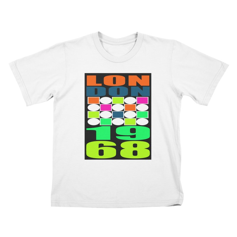 1968 LONDON Kids T-Shirt by THE ORANGE ZEROMAX STREET COUTURE