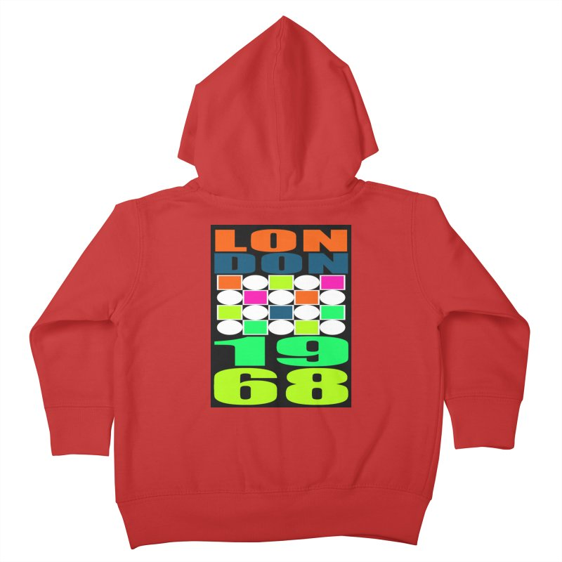 1968 LONDON Kids Toddler Zip-Up Hoody by THE ORANGE ZEROMAX STREET COUTURE